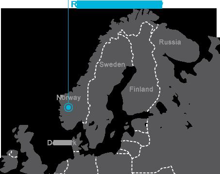 Rjukan Map